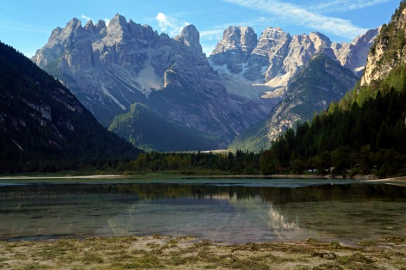 Along the road from San Candido to Cortina
