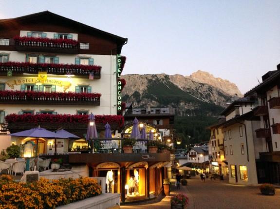 evening in Cortina