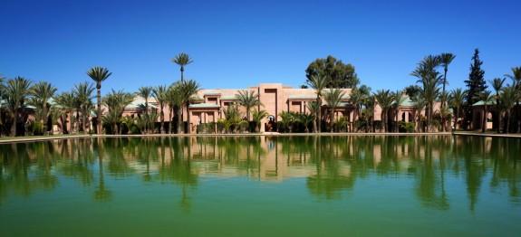 Amanjena lagoon