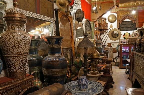 Antique shop in the souk