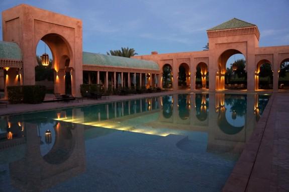poolside evening, Amanjena