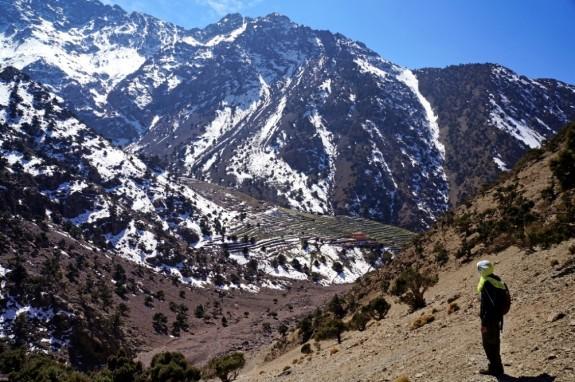 Overlooking the next valley
