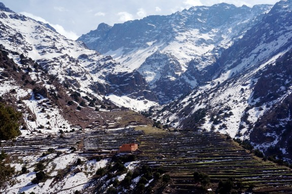 Mountain refuge in the High Atlas