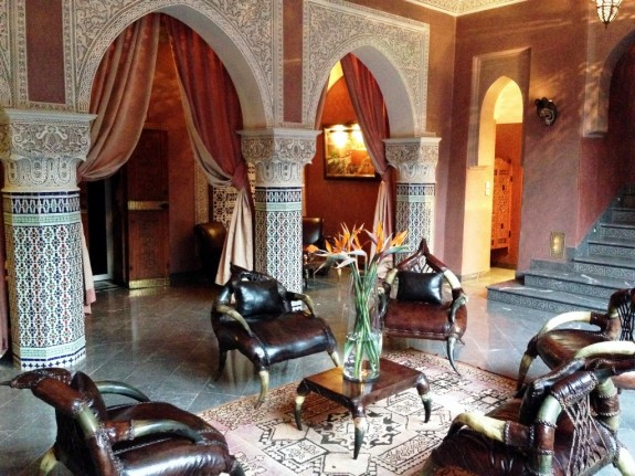 La Sultana sitting room