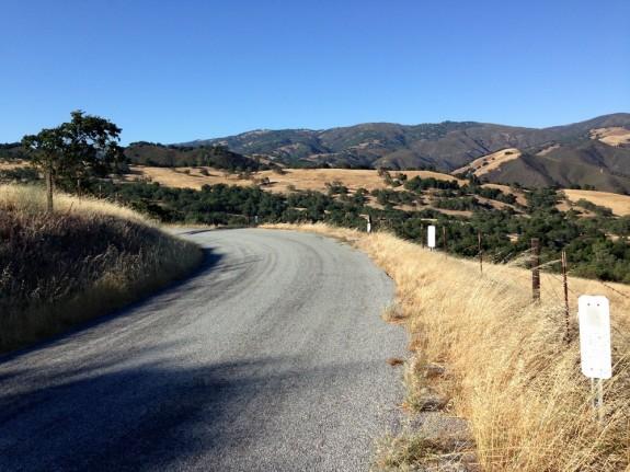 Car-free on Carmel Valley Road